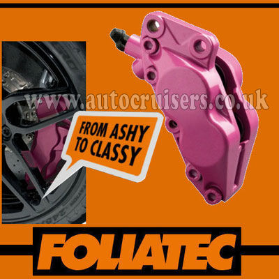 Foliatec Brake Caliper Engine Paint Pink Lacquer High Temp - Click Image to Close