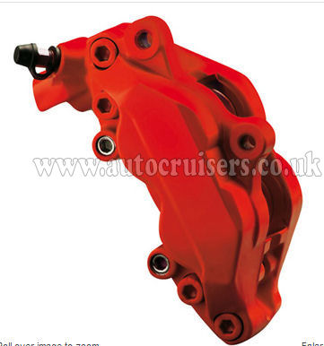 Foliatec Brake Caliper Engine Paint Matt Red Lacquer High Temp - Click Image to Close