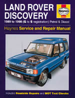 Haynes Repair Service Manual-Land Rover Discovery Petrol and Die