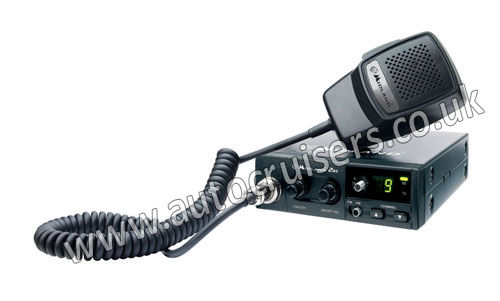 Midland 203 Plus Transceiver, Power Pack and CB Antenna Multi Ch - Click Image to Close