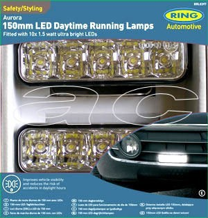 12v LED Cruise-Lite Ice Daylight Day Running Light Lamp - Click Image to Close