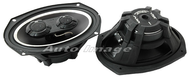 Vibe Slick 693 6x9 inch 3 Way 480w Car Shelf Speakers - Click Image to Close